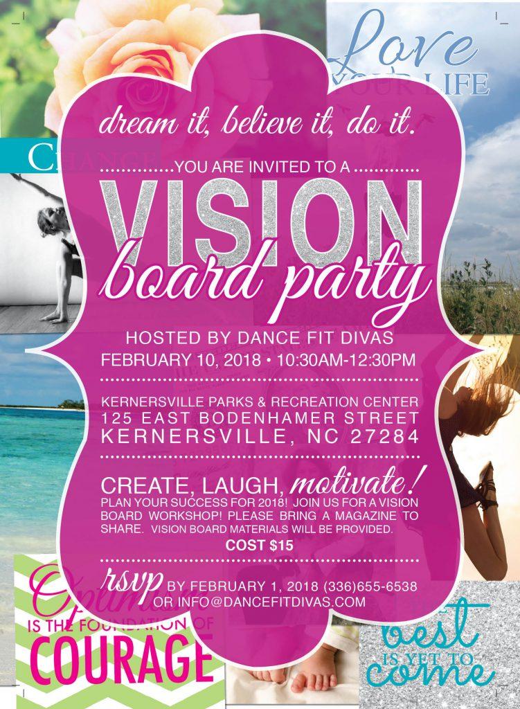 Vision Board Invite