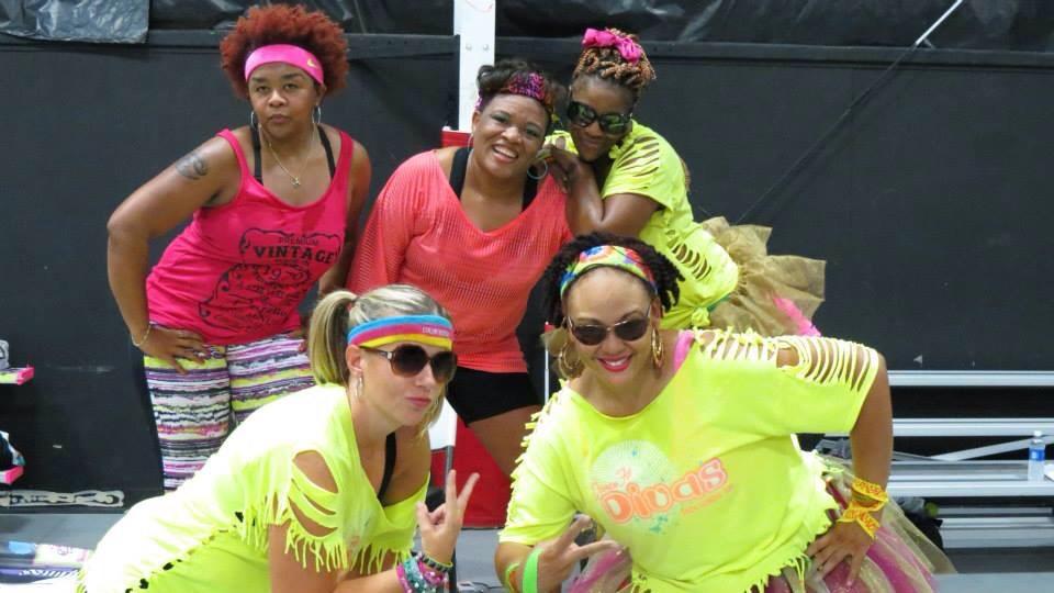 Zumba girls